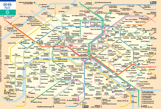 plan paris metro